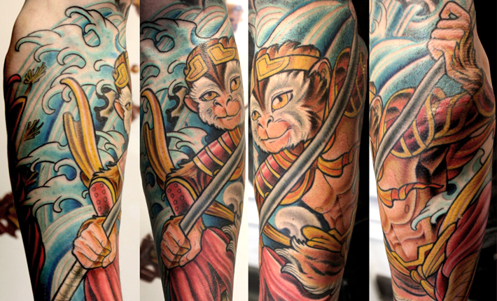 Monkey King Tattoo