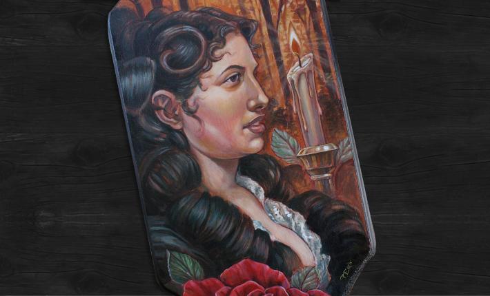 Spanish Woman Portrait