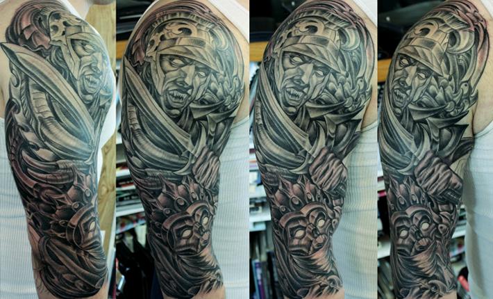 Four horsemen tattoo