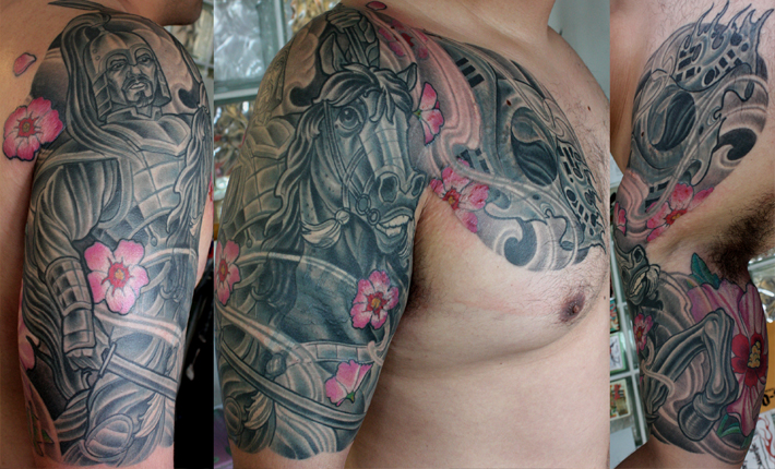 korean Samurai Tattoo