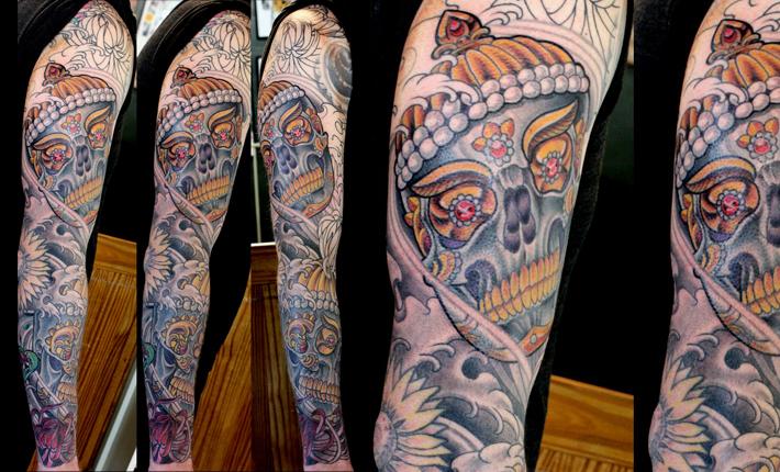 Matt's Kapala Skulls, new work in progress