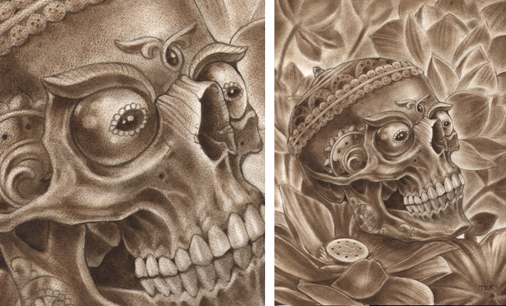 Tattoo artist Terry Ribera at san Diego's best Remington Tattoo in North Park